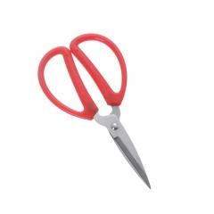 家用/办公红柄剪刀 小号 如图所示