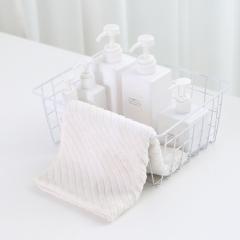 铁艺方格收纳篮置物篮(25个/箱) 白色置物篮 见详情