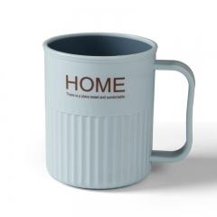 北欧双色洗漱杯HOME   (175个/箱)个 浅蓝色 见详情