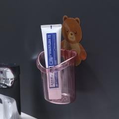 小熊牙刷杯opp装  200个/箱 粉色 见详情