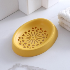 爱心花皂盒   600个/箱 黄色 见详情