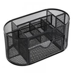 铁艺9格桌面收纳盒   (30个/箱)个 黑色 见详情