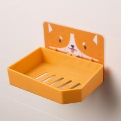卡通无痕肥皂架   (240个/箱)个 土橙柯基 如详情所示