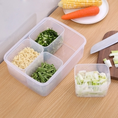 塑料冰箱保鲜盒葱蒜分装盒  (30个/箱)个