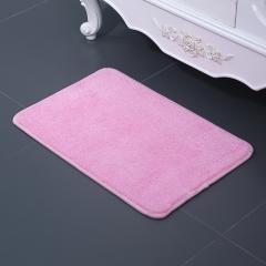 卫生间地垫客厅纤维吸水地垫  100个/箱 浅粉 见详情