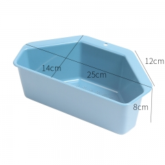六角水槽沥水篮  (180个/箱)个 蓝色 见详情
