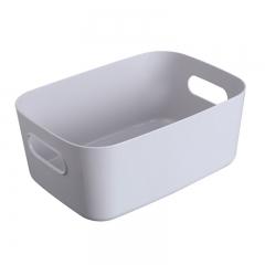 桌面收纳盒浴室置物篮中号 灰色 见详情