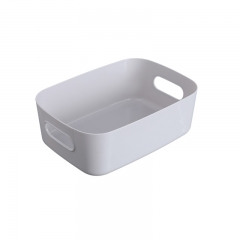 桌面收纳盒浴室置物篮小号  (150个/箱)个 灰色 见详情