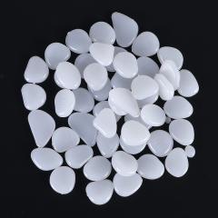 鱼缸花园夜光石 按包卖  (50颗/包  100包/箱)包 白色 见详情
