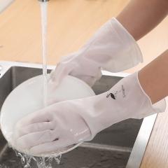 轻型洗碗手套 pvc手套   300/箱 火烈鸟款 见详情