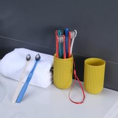 牙刷套筒十只装日式宽头软毛牙刷   混色   100/箱