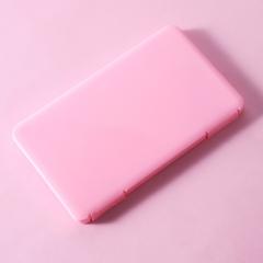 长方形口罩收纳盒  (350个/箱)个 粉色 见详情