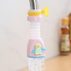 【专利产品】企鹅水龙头花洒HY-040 粉色 见详情