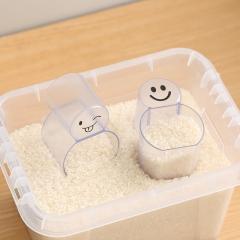 塑料米勺杯 面粉勺子 计量勺 刻度勺 米粉勺 量勺 (280个/箱)