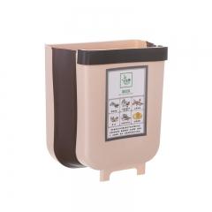 家用折叠垃圾桶厨房塑料分类垃圾桶-小号 60/箱 咖啡色 见详情