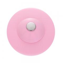 硅胶弹跳水槽塞  吸卡包装  400/箱 粉色 见详情