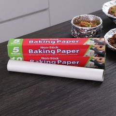 双面用硅油纸烘焙油纸5m  100/箱
