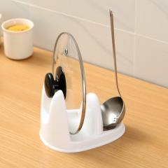 立式可放汤勺锅盖架   (120个/箱)个 白色 见详情