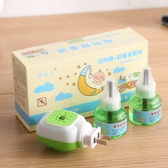 盛夏专属  驱蚊液蚊香液1器+2液套装(48盒/箱)盒