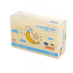 盛夏专属  驱蚊片蚊香片1器+120片套装(56盒/箱)盒