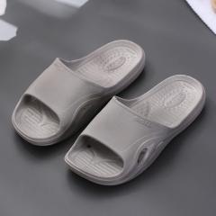 盛夏专属  X-603按摩款凉拖鞋  大码 80双/箱 灰色 42-43