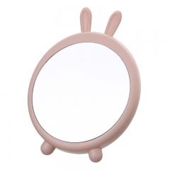 可悬挂化妆镜   48个/箱 小兔粉色 见详情