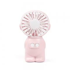 【专利产品】盛夏专属 太空人桌面小风扇FY040 粉色 如图