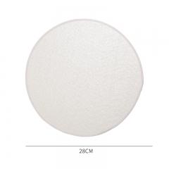 棉质上浆包边蒸笼布-28cm(5000片/箱)--单片卖