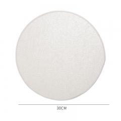 棉质上浆包边蒸笼布-30cm(5000片/箱)--单片卖