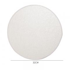 棉质上浆包边蒸笼布-32cm(5000片/箱)--单片卖