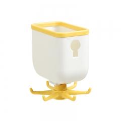 【专利产品】第三代带储物旋转挂架6爪旋转挂钩96/箱 黄色 见详情