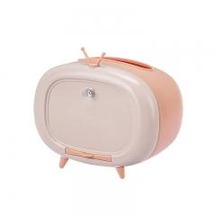 (专利产品)可爱卡通创意客厅餐巾纸盒(50/箱)单个卖 粉色 见详情