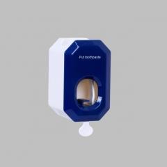 挂壁式免打孔牙膏置物架懒人牙膏挤压器(144/箱) 蓝色 如详情所示