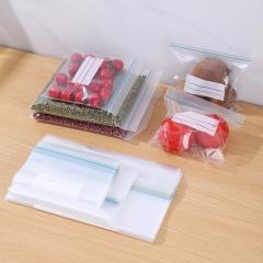袋装双筋密实保鲜袋三种规格100/箱