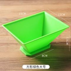端午节包粽子模具 方形大号 方形大号绿色 见详情