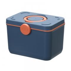 塑料家用医药箱(24个/箱) 深蓝色 见详情
