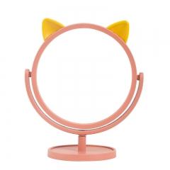 圆底猫耳小仙女化妆镜005(48盒/箱) 粉色 见详情