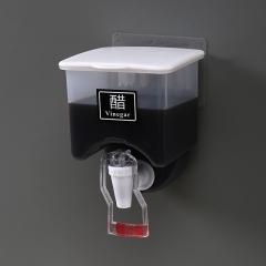壁挂式调料盒调味盒80/箱 白色 见详情