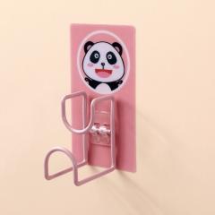 卡通图案脸盆收纳架(260包/箱)-包 粉色 见详情