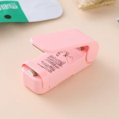 塑料袋封口机手压热封机  315/箱 粉色 见详情