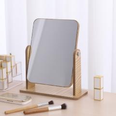 桌面木质化妆镜旋转化妆镜大号 48/箱