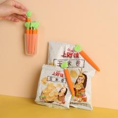 5枚装萝卜封口夹 密封夹-粘胶款(200包/箱)