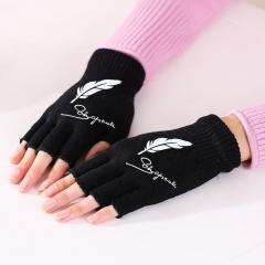 露指毛线手套  (600包/箱)包 羽毛 均码