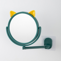 【专利产品】吸壁猫耳化妆镜   60/箱 深蓝+黄 见详情