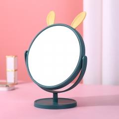圆底兔耳小仙女化妆镜 藏青 见详情