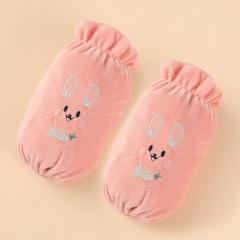 短款袖套可爱兔   600/箱 粉色 如详情所示