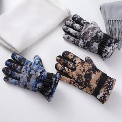 户外保暖迷彩手套混色(120包/箱)包