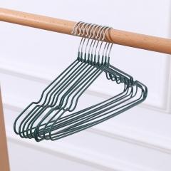 新一代带凹槽防滑晾衣架   (10个/捆 400个/箱)个 墨绿 见详情