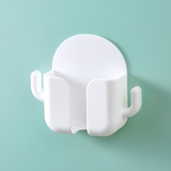 仙人掌款手机充电收纳盒 白色 见详情