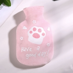 布套热水袋欢乐猫R9304  (160个/箱)个 粉色 见详情